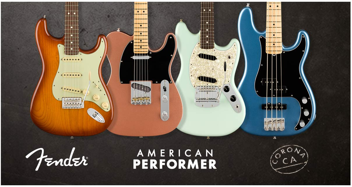 Fender American Performer - обзор на русском языке | A&T Trade