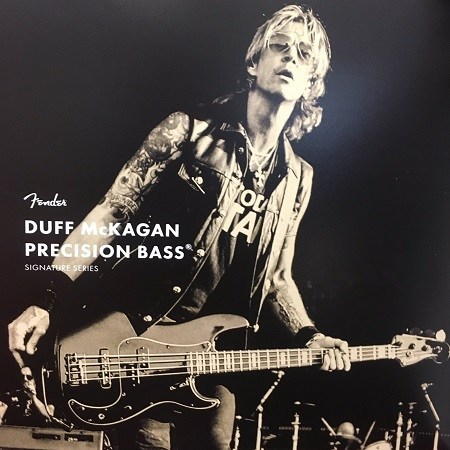 Fender Duff McKagan Bass | A&T Trade
