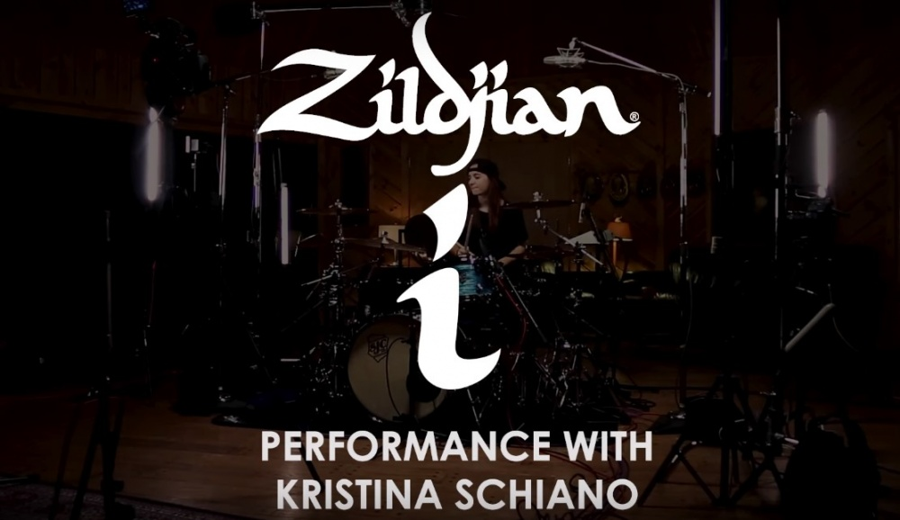 Кристина Шиано. Артист Zildjian | A&T Trade